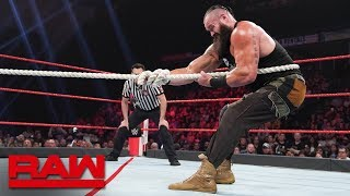 Braun Strowman vs. Bobby Lashley – Tug of War: Raw, June 24, 2019