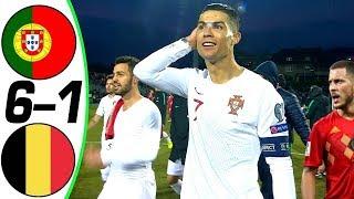 Португалия Бельгия 6 1 Обзор Контрольных Матчей 24 03 2007 02 06 2018 HD