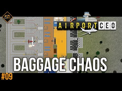 Guessing how to build a baggage handling system in AirportCEO gameplay #9