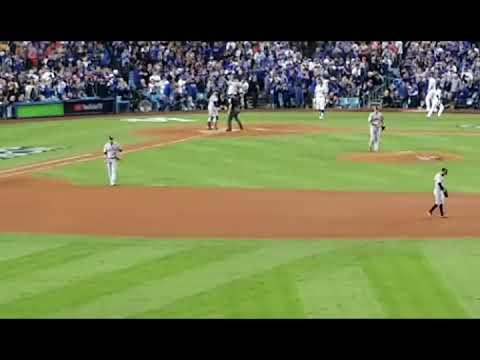World Series Game 6:  Dodger Stadium Going Crazy