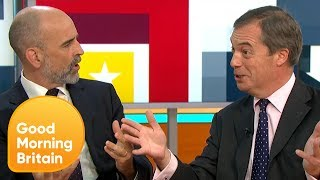 Nigel Farage Insists the UK Is Leaving the EU