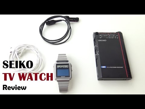 Seiko TV Watch Review - VintageDigitalWatches Ep 39