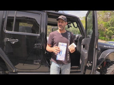 Jeep Wrangler Cabin Air Filter Install is SO EASY! Do It Yourself and Save Money
