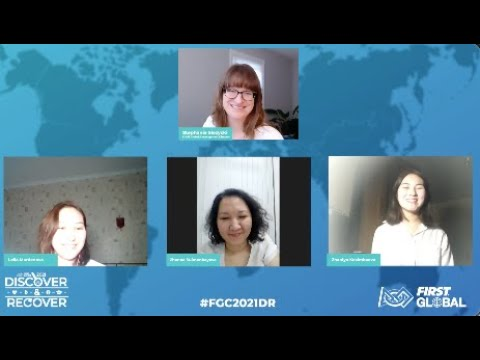 """""""Building a CubeSat Prototype in Kazakhstan"""" with Zhaniya, Zhanna, and Leila 