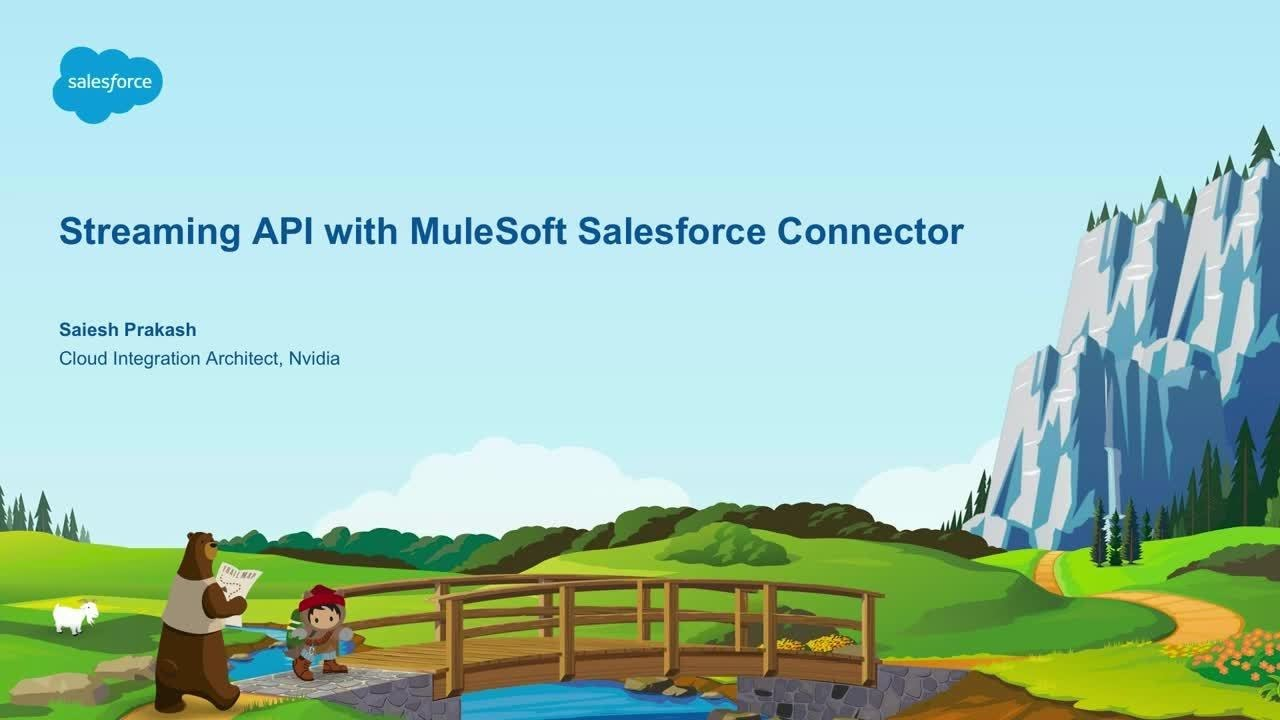 Easy Streaming with MuleSoft's Salesforce Connector