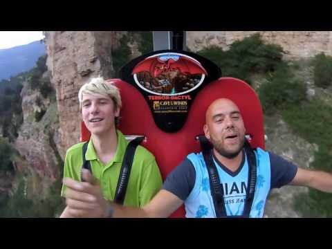 Cave of Winds Mountain Park  TerrorDactyl Ride  Manitou Springs, Colorado  Logan Diaz