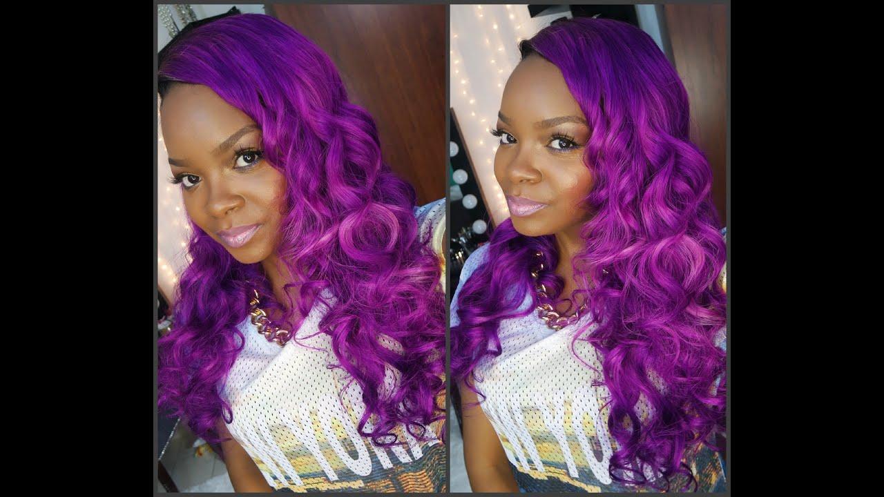 New Violet Hair