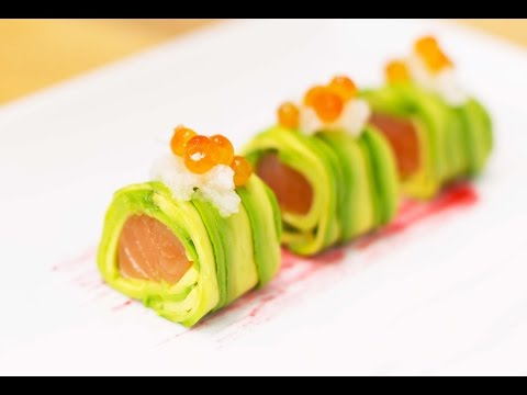 Download How to Make Alaskan Avocado Roll Pictures