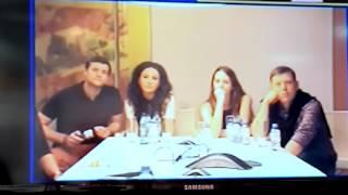 Видео-конференция с актерами сериала «Мамочки» телеканала СТС, второй сезон – фрагменты(7)