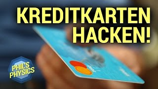 Kreditkarte hacken? Magnetstreifen und NFC mit App ausspionieren | Phil's Physics