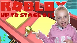 Roblox Mega Fun Obby Up to Stage 612. Suziegameplay