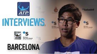 Chung Talks Keys To Zverev Victory At Barcelona 2017