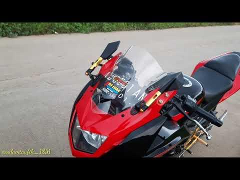 Modif kawasaki Ninja 150RR Simple cocok buat harian