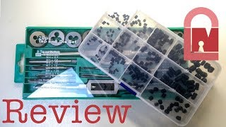 (313) Banggood com.Review and Lock Giveaway - Tap and Die & Grub Screw Sets - Part 3