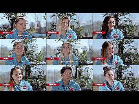A Milli Bayan Futbolculardan Tek Kelime EURO 2024 Aday Kentler | Türkiye Share Together