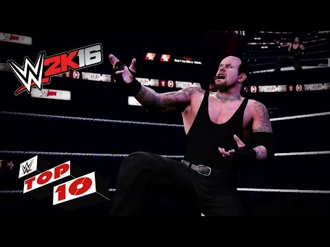 Dastardly Destructive Moves of The Deadman: WWE 2K16 Top 10