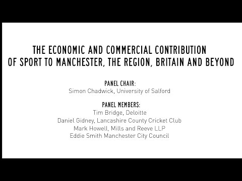The economic and commercial contribution of sport to Manchester, the region, Britain and beyond