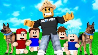 Help!.. I ADOPTED TOO MANY KIDS in Roblox Adopt Me!