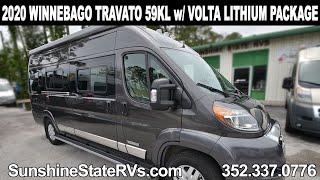 New 2020 Winnebago Travato 59KL Class B RV   *Volta Lithium Package*