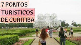 CURITIBA - 7 PONTOS TURISTICOS PARA CONHECER