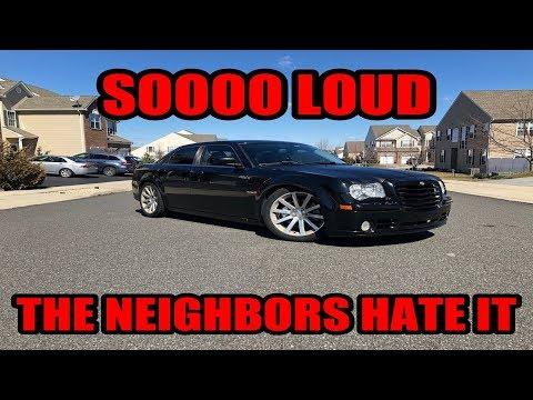 CAMMED 2006 Chrysler 300C SRT8 Review | BADDEST SEDAN OF THEM ALL???