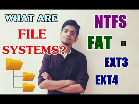 What are File Systems In Computers? | NTFS, FAT, EXT | Working and Comparison