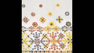 Embroidered  Fabric Border Cotton Cambric