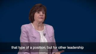 The 2016 Election: Advancing Women in Leadership Positions - Cheryl Carleton
