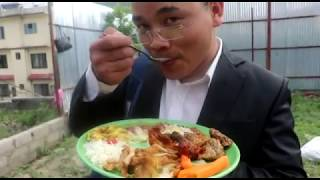 Food eating//Nepali food//tasty food