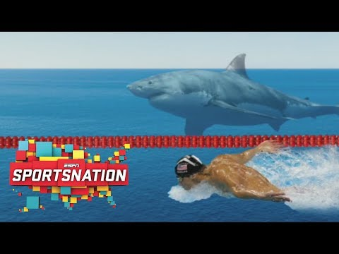 Michael Phelps Have Shot At Beating Great White Shark In Race? | SportsNation | ESPN