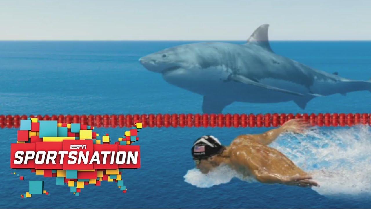 Who won - Michael Phelps or the Shark? Shark Week swimming showdown results