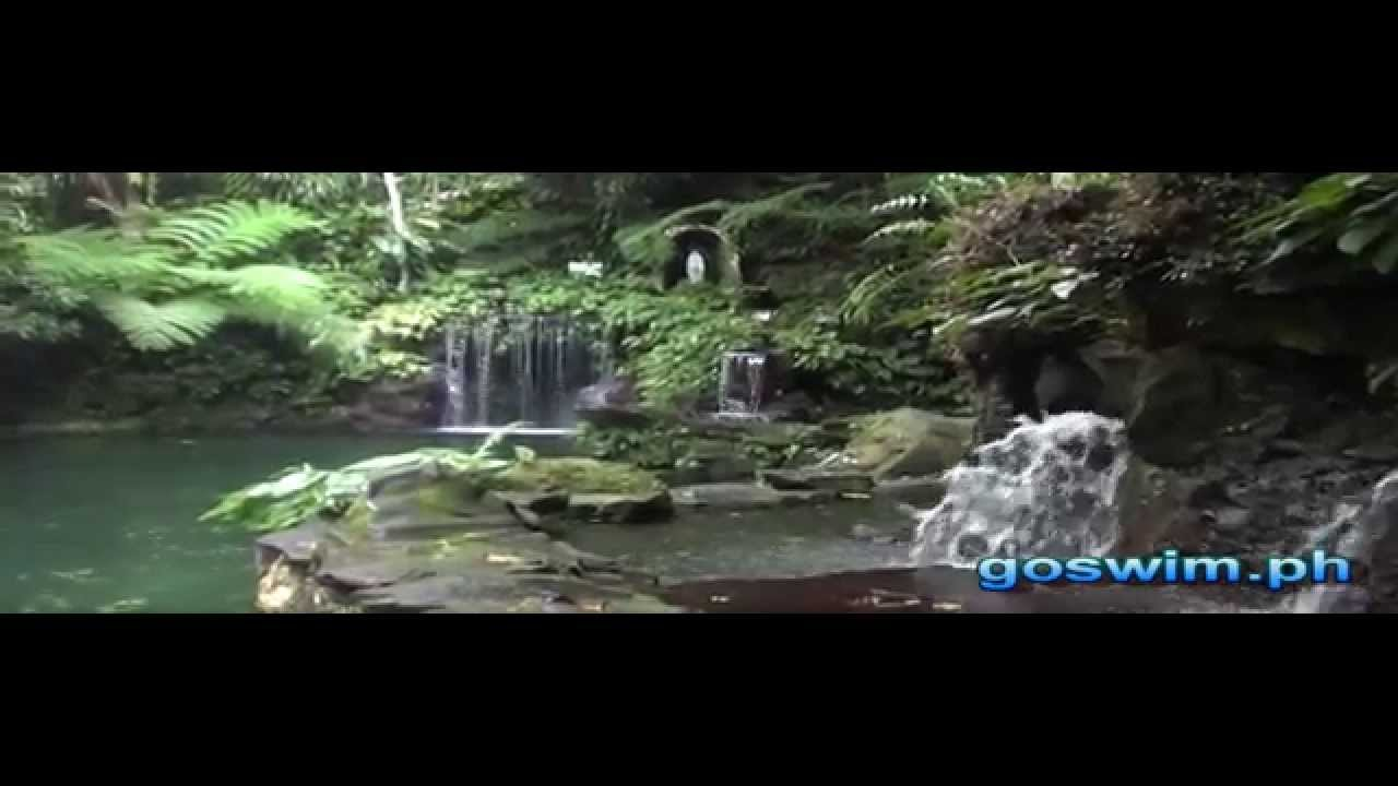 Natural Swimming Pools At Bato Springs Resort San Pablo Laguna Youtube