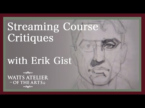 Watts Atelier Streaming Course Critique, with E.M. Gist