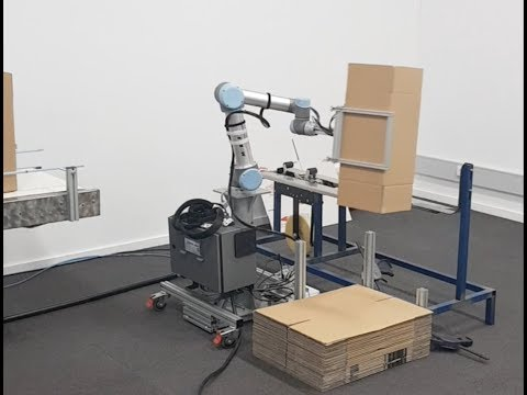 First Collaborative Robot Box Erector | Mobile Automation