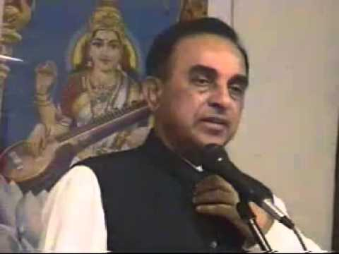 Dr. Subramanian Swamy talks about his fight to stop destruct