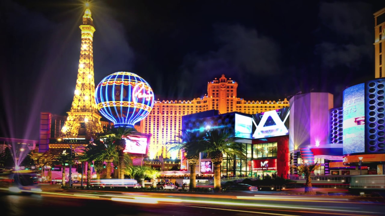 Las Vegas Strip Hd Wallpaper Las Vegas Animated Background Hd Free Youtube