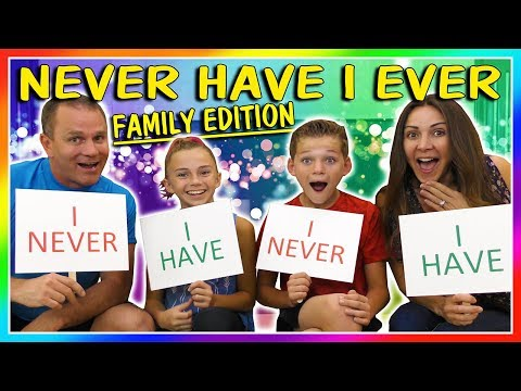 NEVER HAVE I EVER - FAMILY EDITION | WE TELL THE TRUTH! | We Are The Davises