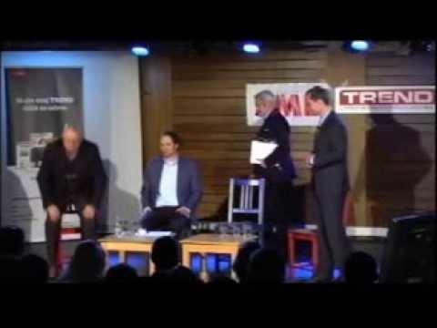Milan Kňažko v diskusii o prezidentských voľbách, 18.3. 2014