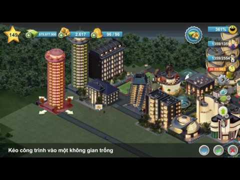 Hack lv, money , gold CITY ISLAND 4, BUILDING SIM