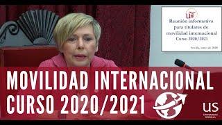 Resuelve todas tus dudas en la Reunión Informativa para Titulares de Movilidad Internacional 2020-21