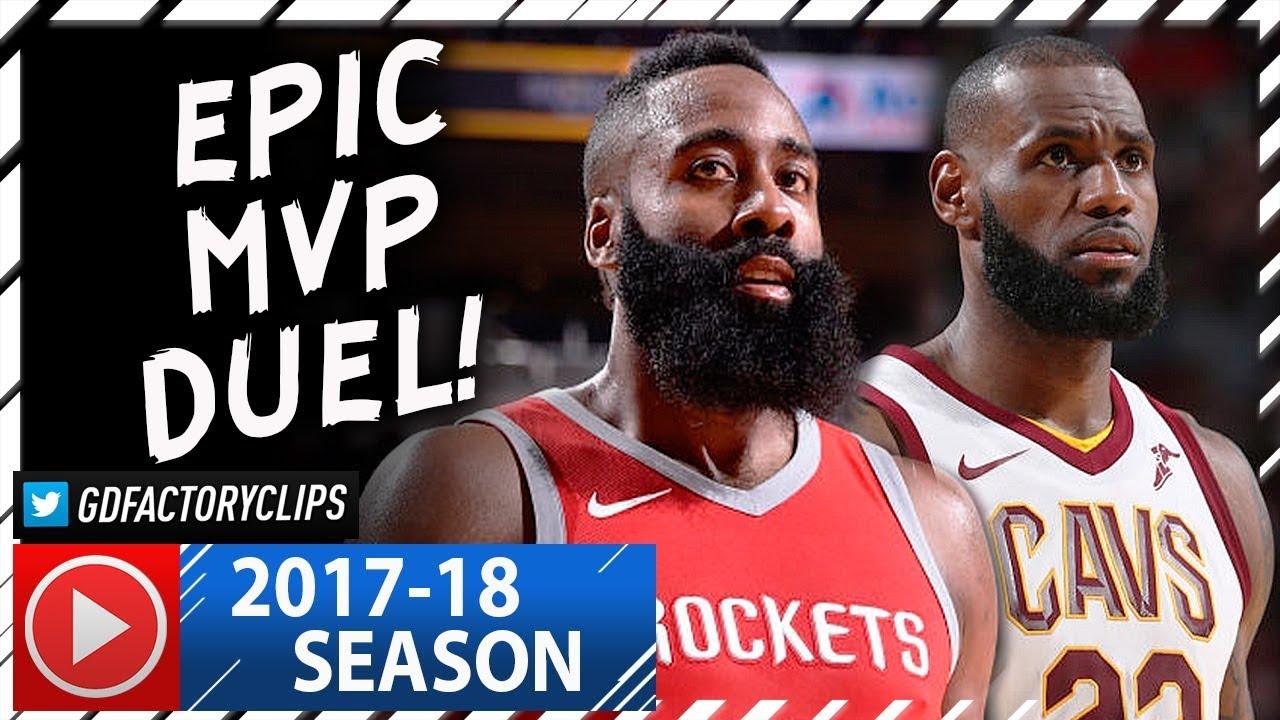 0fb2f16c0083 James Harden vs LeBron James EPIC MVP Duel Highlights (2017.11.09) Cavs vs  Rockets - MUST SEE!