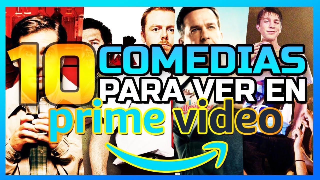😂 10 Peliculas COMEDIAS Amazon Prime Video   Que ver en PRIME VIDEO 2021   POSTA BRO!