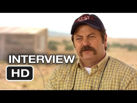 We're The Millers Interview - Nick Offerman (2013) - Jennifer Aniston Movie HD thumbnail