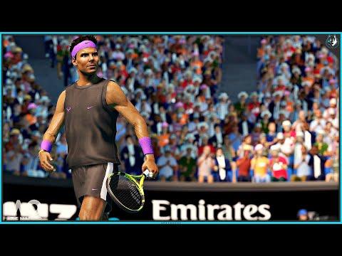 AO Tennis 2 - Australian Open Match / Multiplayer | PS4 Pro Gameplay