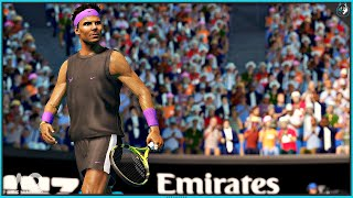 AO Tennis 2 - Australian Open Match / Multiplayer | PS4 Pro Gameplay