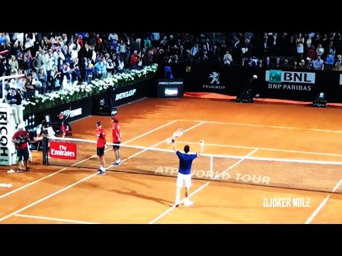 Novak Djokovic vs Dominic Thiem - Rome 2017 (HD)