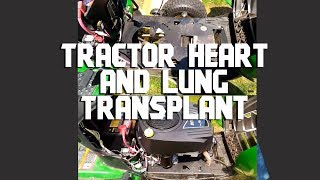 John Deere D120 Briggs and Stratton Intek Engine Replacement