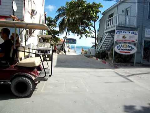 Tour of San Pedro Town - Front Street - San Pedro, Ambergris Caye, Belize