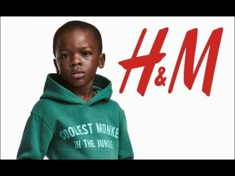 "H&M Advert - ""Coolest Monkey in the Jungle"" - JHB Sandton City Store Vandalized"