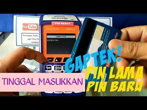 Cara Mengganti Pin ATM BRI Pada Mesin EDC Agen Brilink